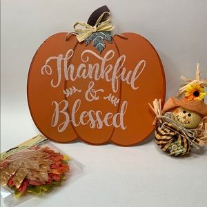 Fall Decor Thankful & Blessed Bundle